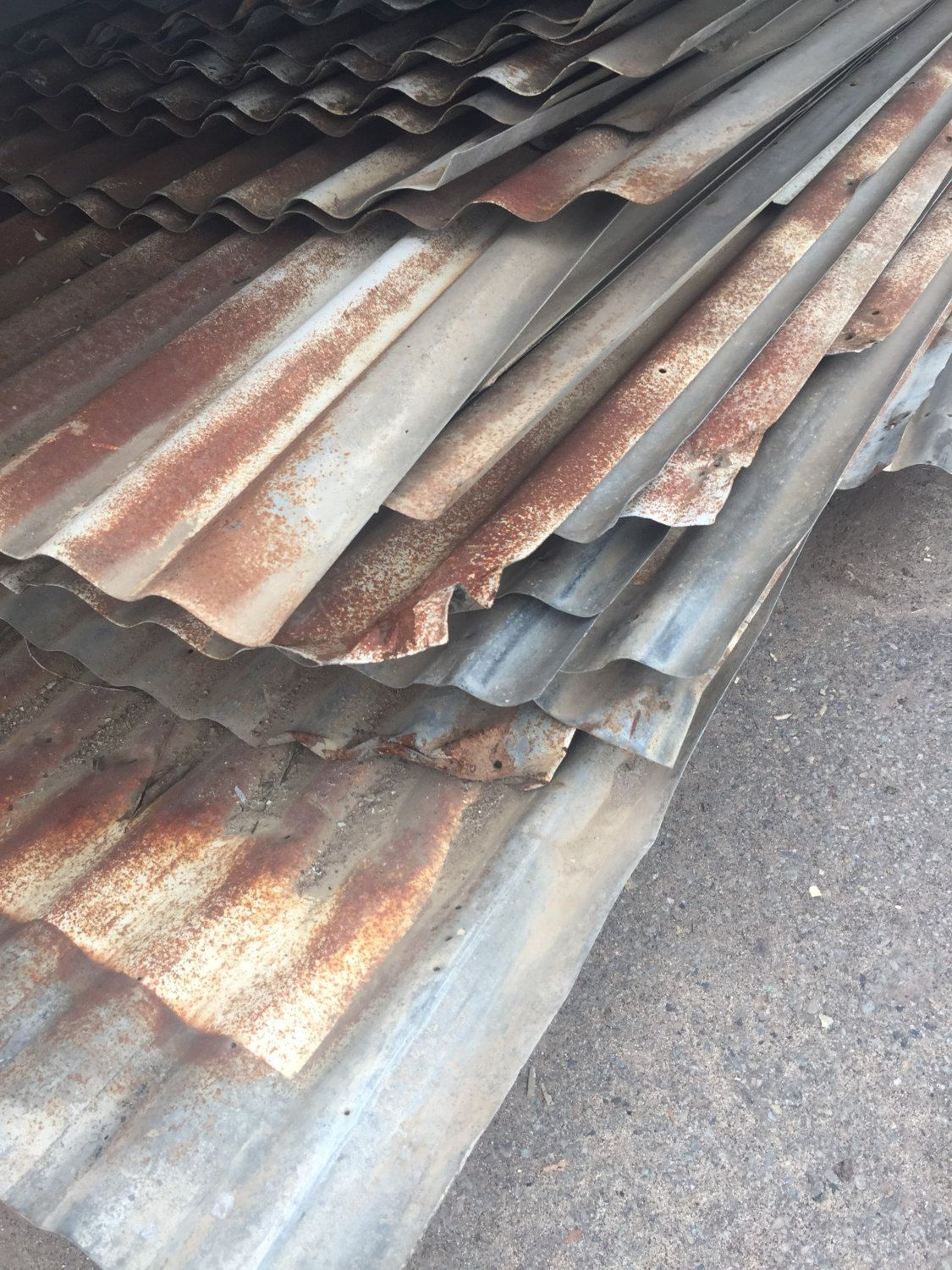 Galvanized Metal Sheets Salvaged Barn Roof Roofing From Etsy Barn Roof Galvanized Metal Corrugated Metal Roof