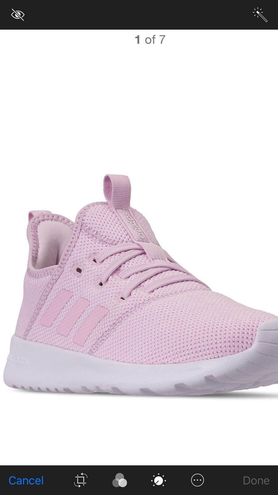adidas Cloudfoam Pure Sneaker Women's | Stylish tennis