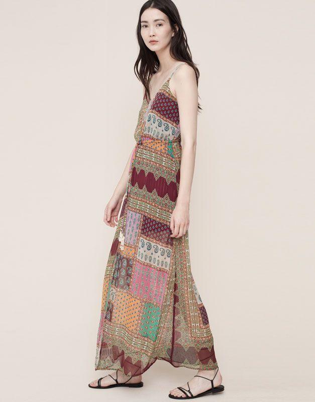 Vestidos Mujer Pull Bear España Colorful Dresses Womens Dresses Dresses