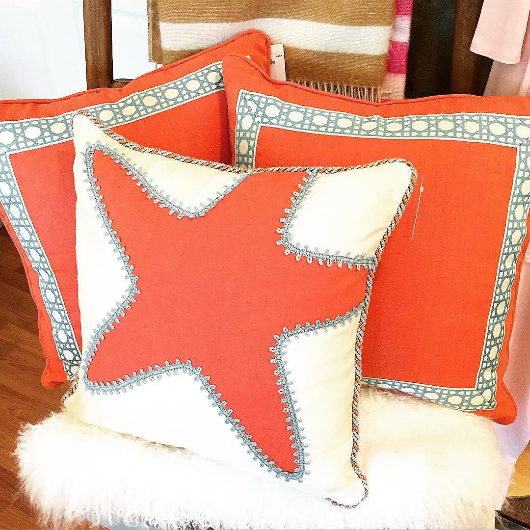 Pretty new pillow have just arrived at Two Friends Too!! #tfssi #tftoo #stsimons #seaisland #shopssi #redfernvillage