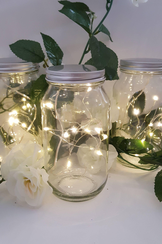 Warm White Micro Led Seed Vine Vase Lights Wedding Centerpiece Fairy