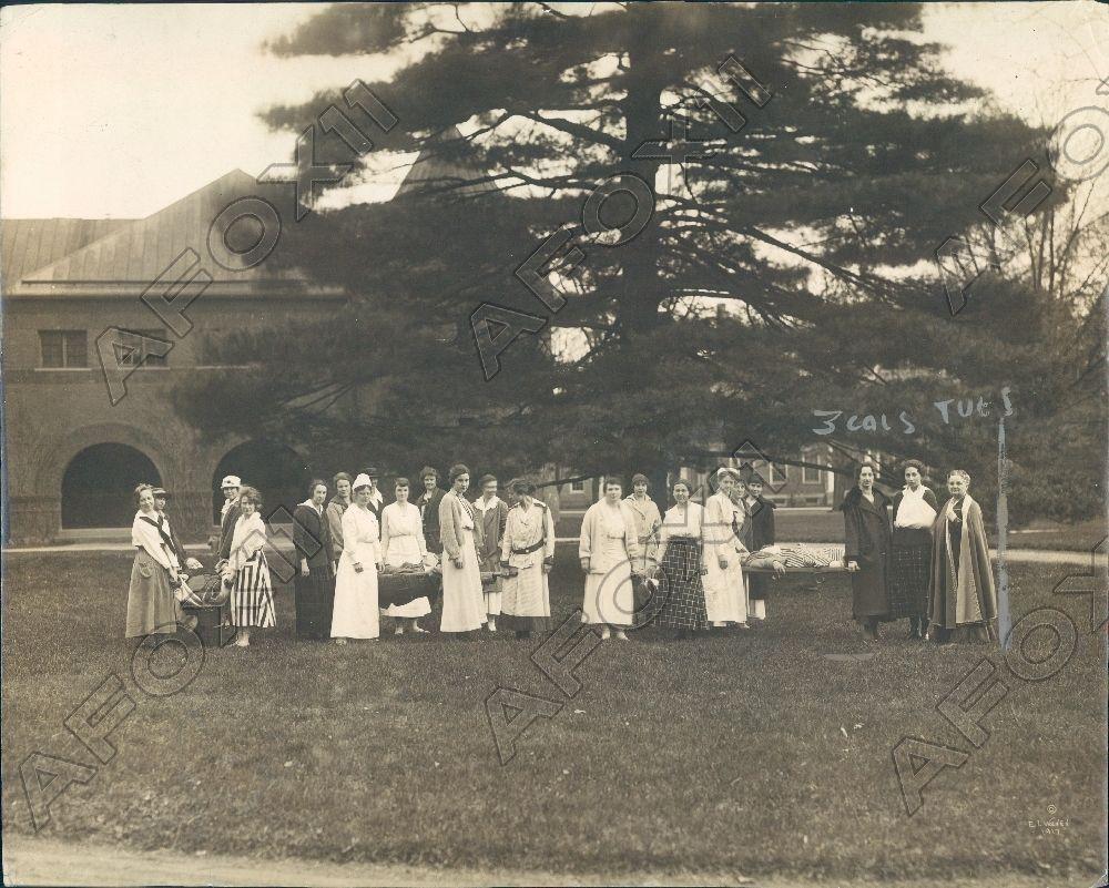 1918 Poughkeepsie New York Vassar Nurses Training