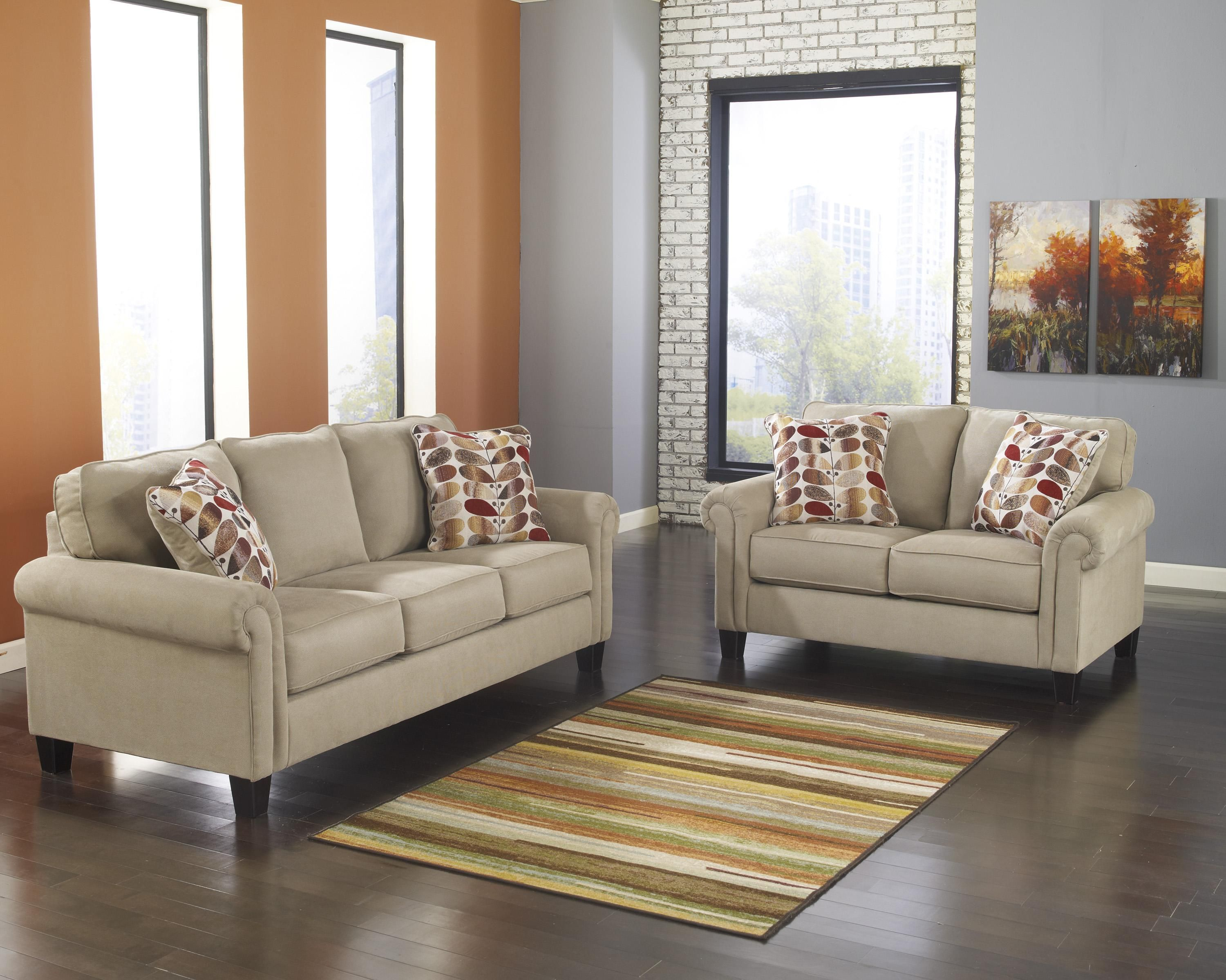 Pilgrim Furniture Room Designs Benchcraft Furniture Loveseat