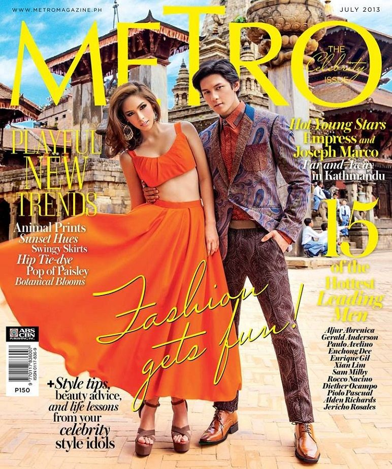 Cato van Ee Covers Elle Germany June 2013 |MagSpider