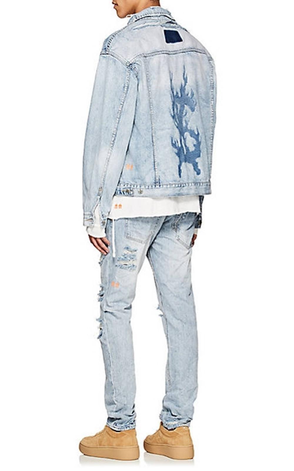 Searching For Ksubi X Travis Scott Ripped Citch Jeans We Ve Got Ksubi Bottoms Starting At 210 And Plenty Of Mens Fashion Streetwear Custom Denim Jacket Ksubi [ 1601 x 1000 Pixel ]