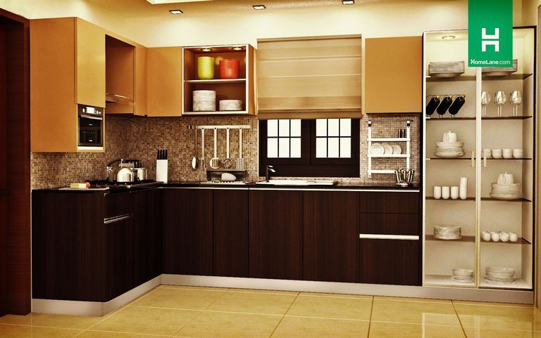 Buy Robin Ultra Mod L Shaped Kitchen Online Best Price Homelane