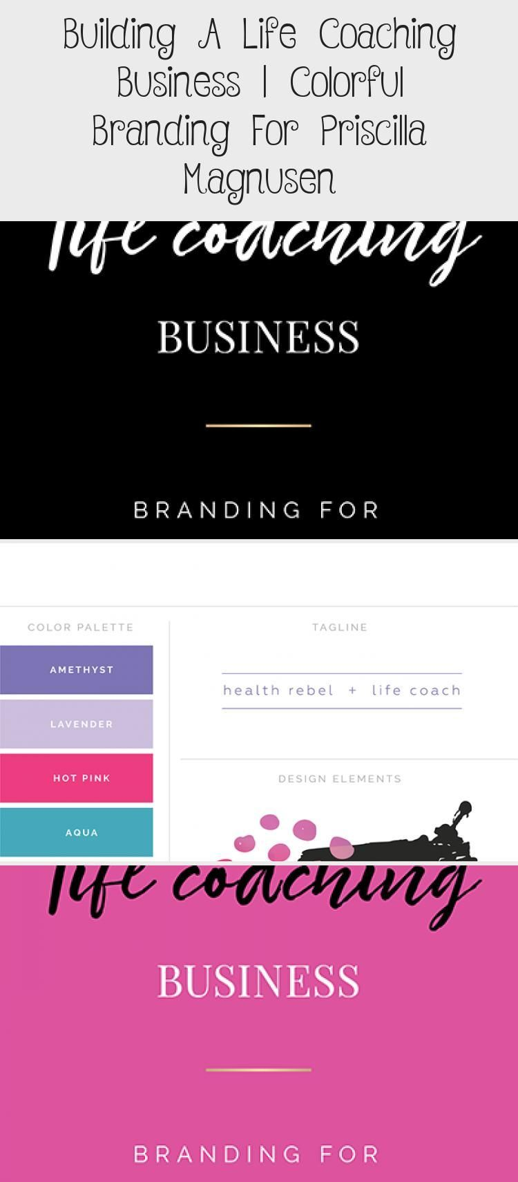 Building A Life Coaching Business: Colorful Logo and ...