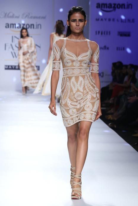Nude india runway pic something