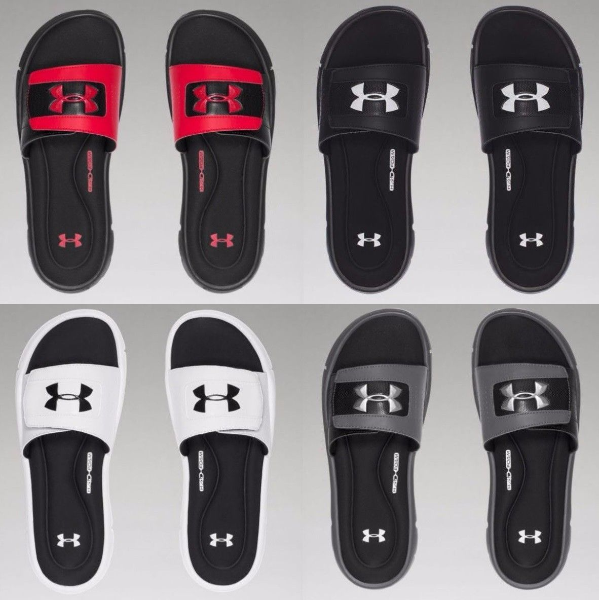 4151e762d8a0 Sandals and Flip Flops 11504  Under Armour Men S Ua Ignite V Slide Foam  Sport Memory Foam Sandals Sizes 8-14 -  BUY IT NOW ONLY   34.95 on eBay!