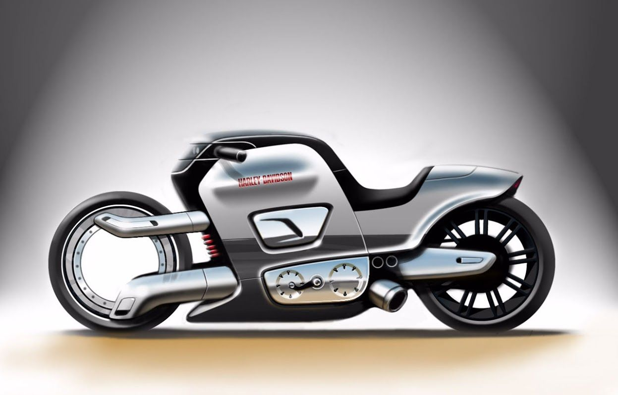 Harley Davidson Concept Concept Motorcycles Harley Davidson Harley