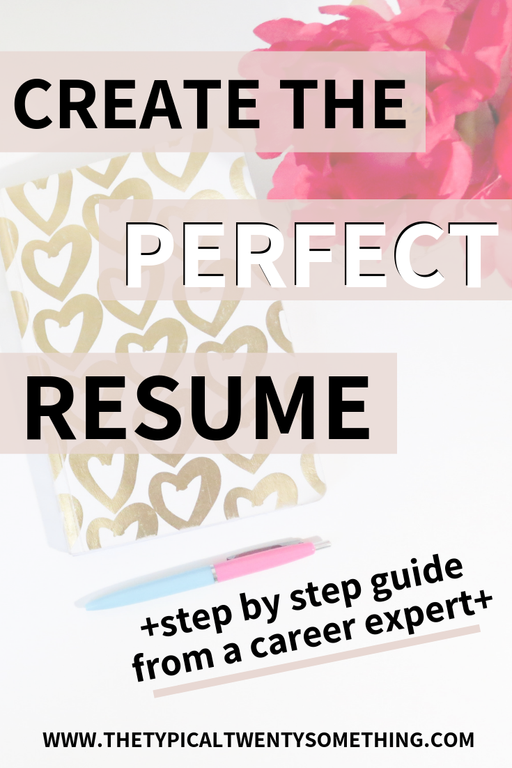 How to make a resume! Create the perfect resume in a few