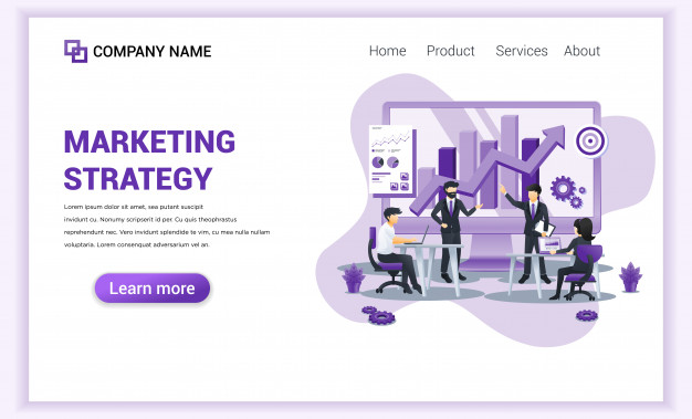 Marketing Strategy Landing Page In 2020 Marketing Strategy Landing Page Marketing