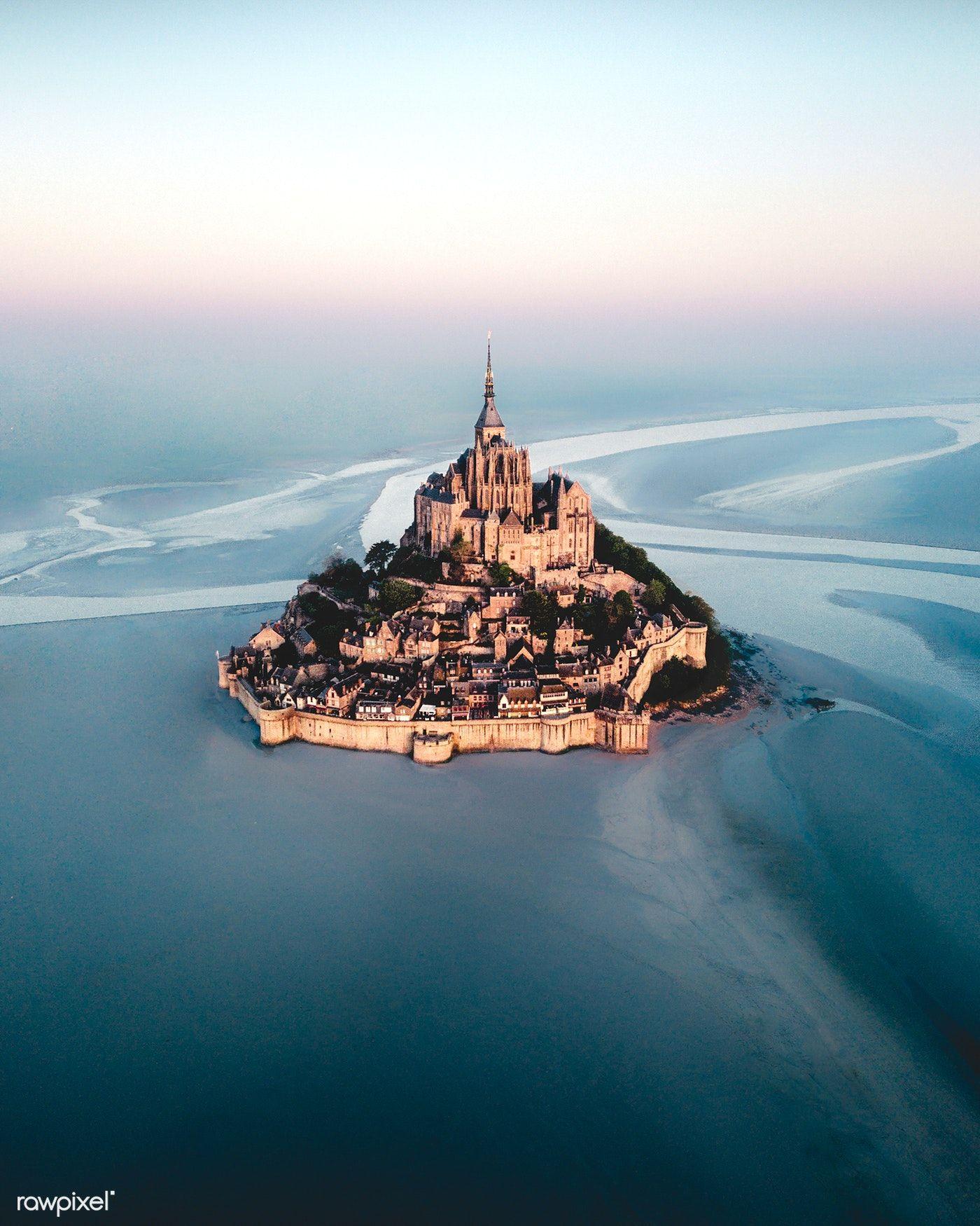 Download Premium Image Of Mont Saint Michel Island In Normandy France Travel Mont Saint Michel France Trip