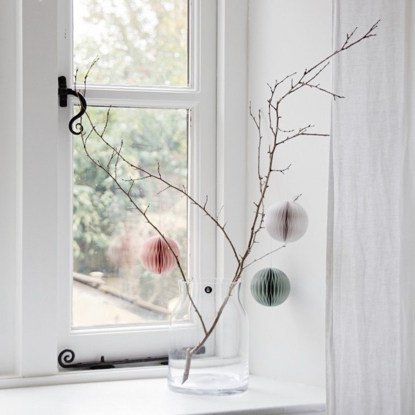 The Autumnal Beauty Of A Naked Branch How To Style Paper Ornaments