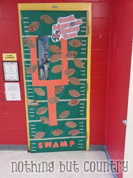 Florida Gator Theme Door Teacher Appreciation Teacher