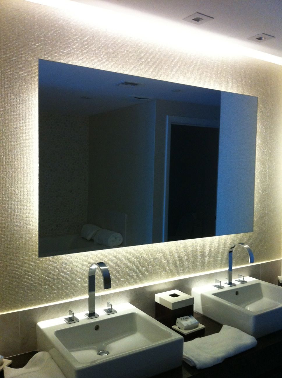 Floating Mirror   Google Search Led Mirror, Water Garden, Bathroom Designs,  Project Ideas
