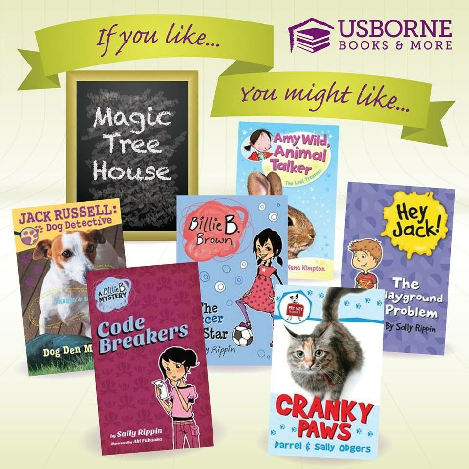 If You Like Magic Tree House You Might Like With Images