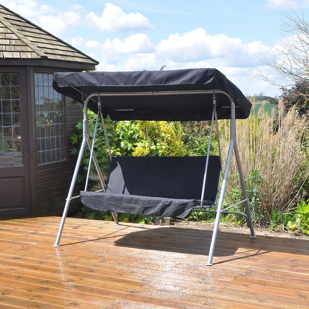 2 seater swinging hammock bench seat with canopy 2 seater swinging hammock bench seat with canopy   garden      rh   pinterest