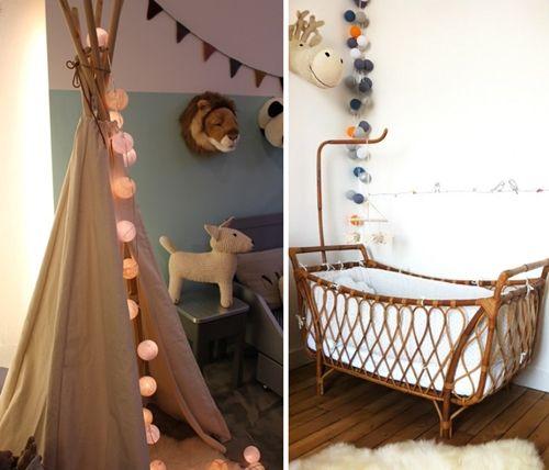 Guirnaldas de luces para habitaciones infantiles for Objetos decoracion habitacion bebe