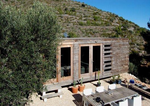 Vivienda unifamiliar prefabricada en madera / Daniel Martí + Jurgen Van Wereld y Karin Giesberts   Plataforma Arquitectura
