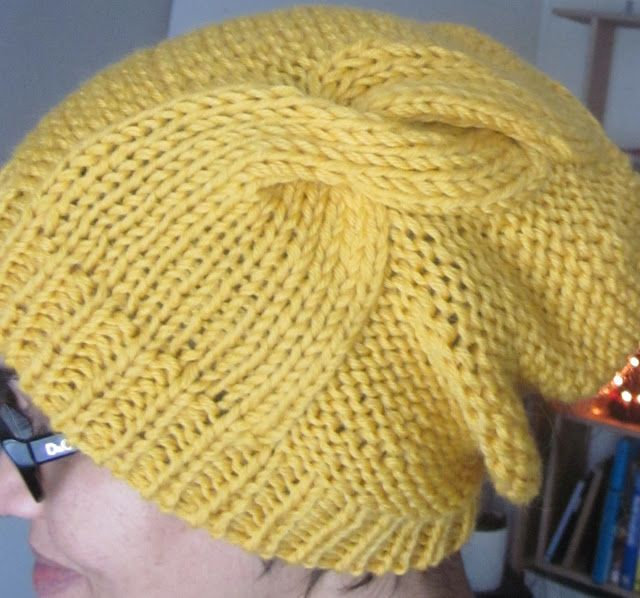 Double Twist Hat pattern-going to need to practice to be able to do ...