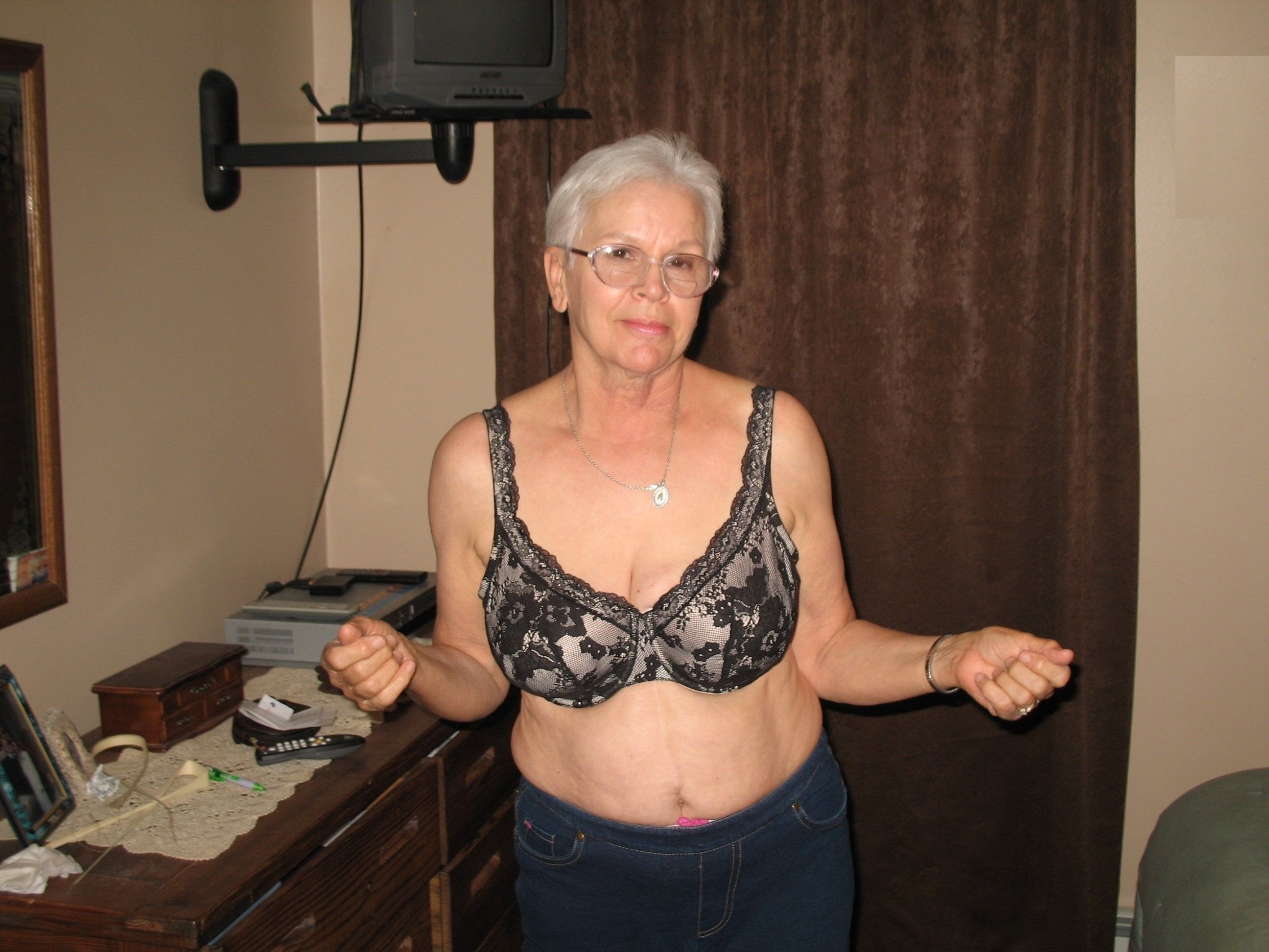 Shivers skinny grandma fuck ass cock Great
