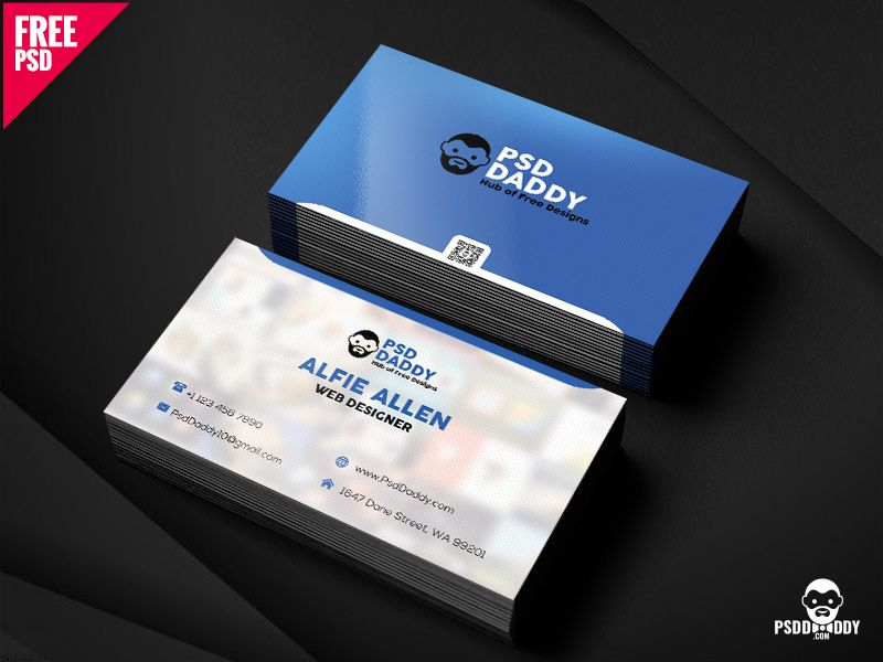 Business Card Free PSD | Business cards and Business