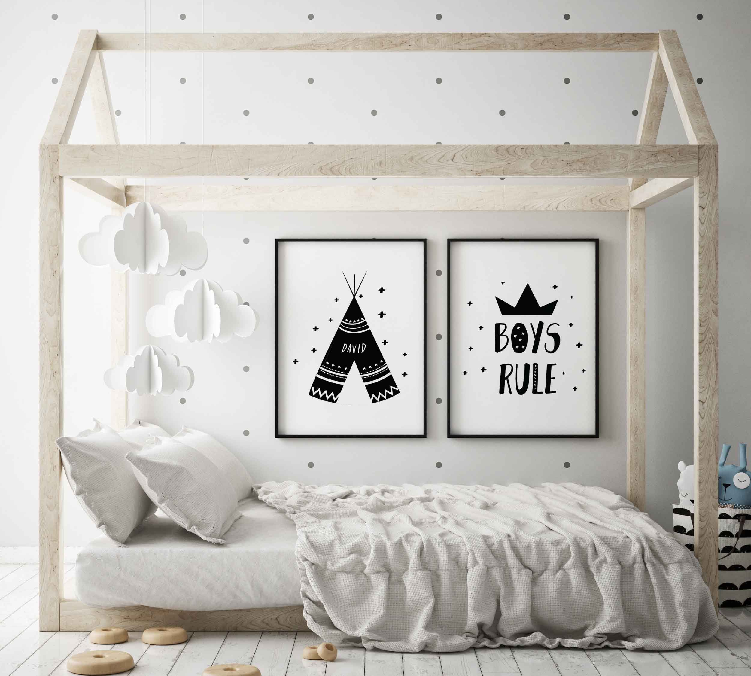 Nursery Prints Set Child Baby Kids Room Pictures Wall Art Decor Christmas Gifts
