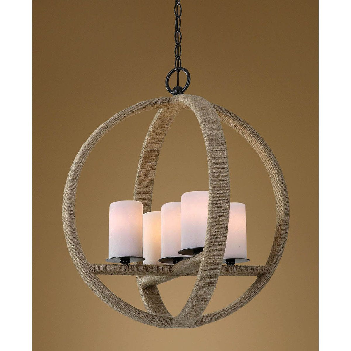 Uttermost Gironico Round 5 Light Pendant 21997