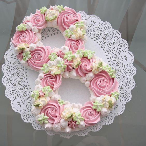 Las más bonitas Number cakes | Tarjetas Imprimibles #numbercakes