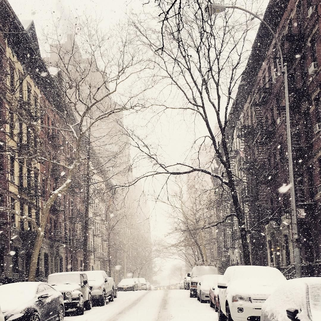 Say it ain't snow 😍❄️ #nyc