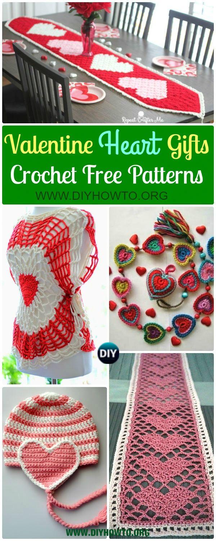 Crochet Valentine Heart Gift Ideas Projects Free Patterns: love hat ...