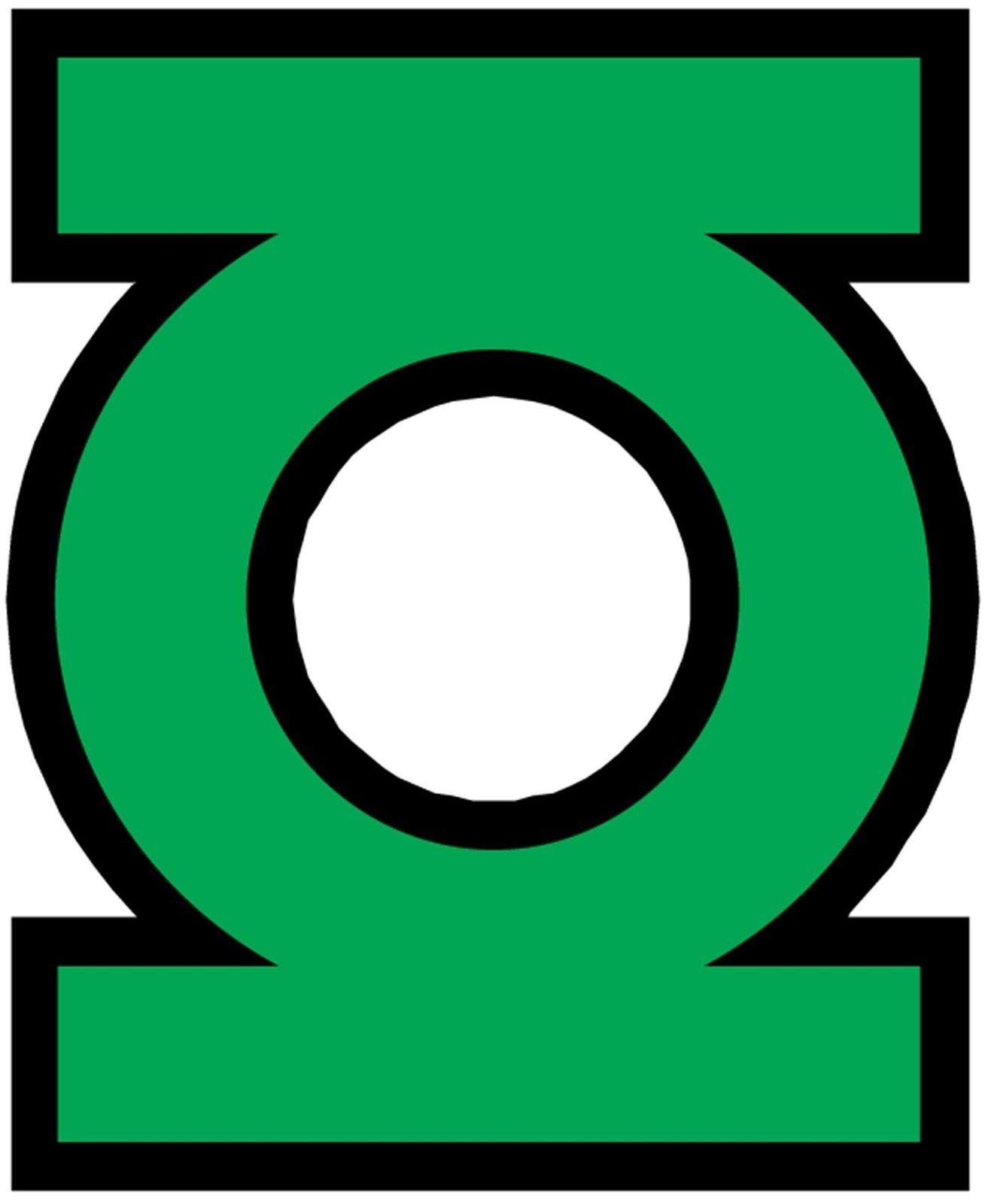 Green Lantern 11 8 X 10 Tee Shirt Iron On Transfer Symbol Hero Logo Green Lantern Green Lantern Logo