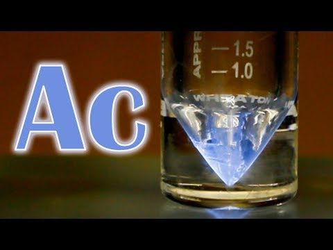 Actinium new video periodic table of videos youtube real actinium new video periodic table of videos youtube urtaz Image collections
