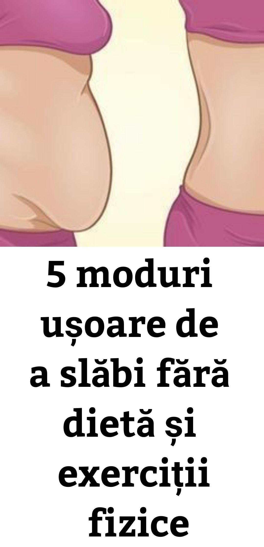 5 sfaturi pentru pierderea în greutate