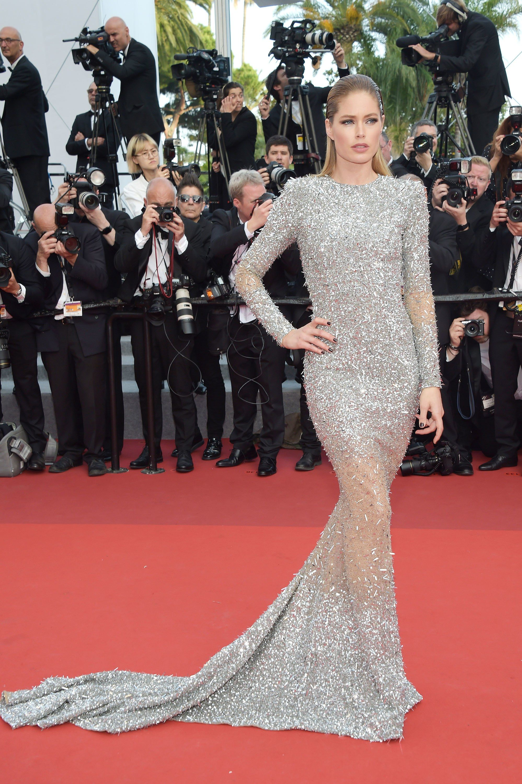 Irina Shayk Hits Her First Post Pregnancy Red Carpet At The Cannes Film Festival