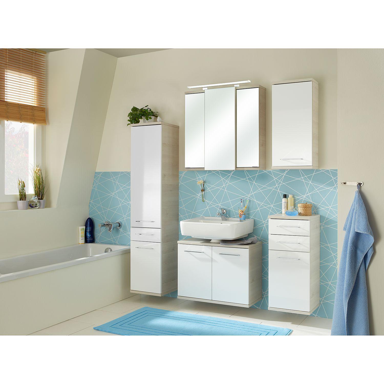 Badmobel Set 3 Teilig Badmobel Set Mit Waschtisch 80 Cm Spiegelschrank Badezimmer Gunstig Badmo Waschbeckenunterschrank Spiegelschrank Badezimmer Gunstig