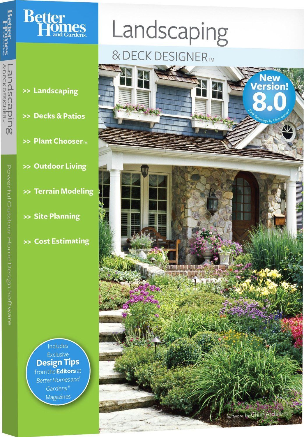 Better Homes And Gardens Landscaping And Deck Designer 8 0 Old