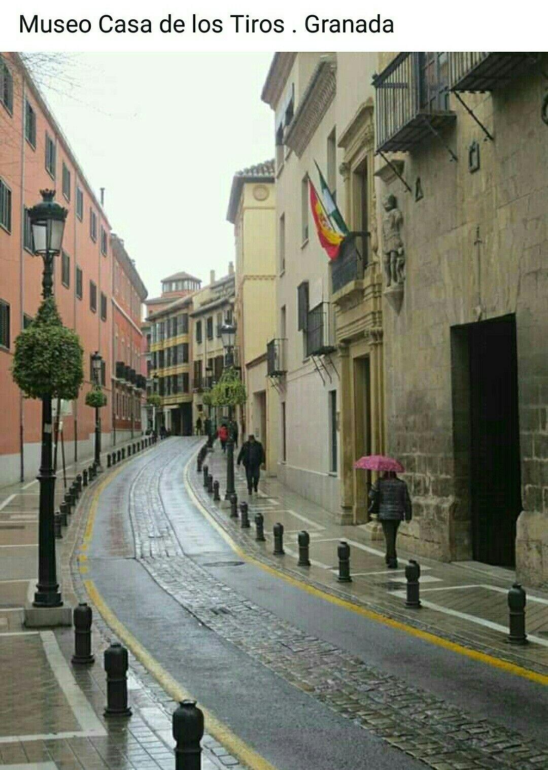 Museo Casa De Los Tiros Calle Pavaneras Granada Street View Street