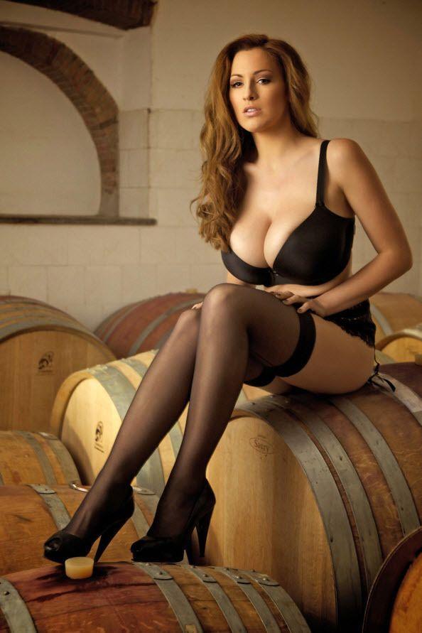 lingerie stockings in Voluptuous