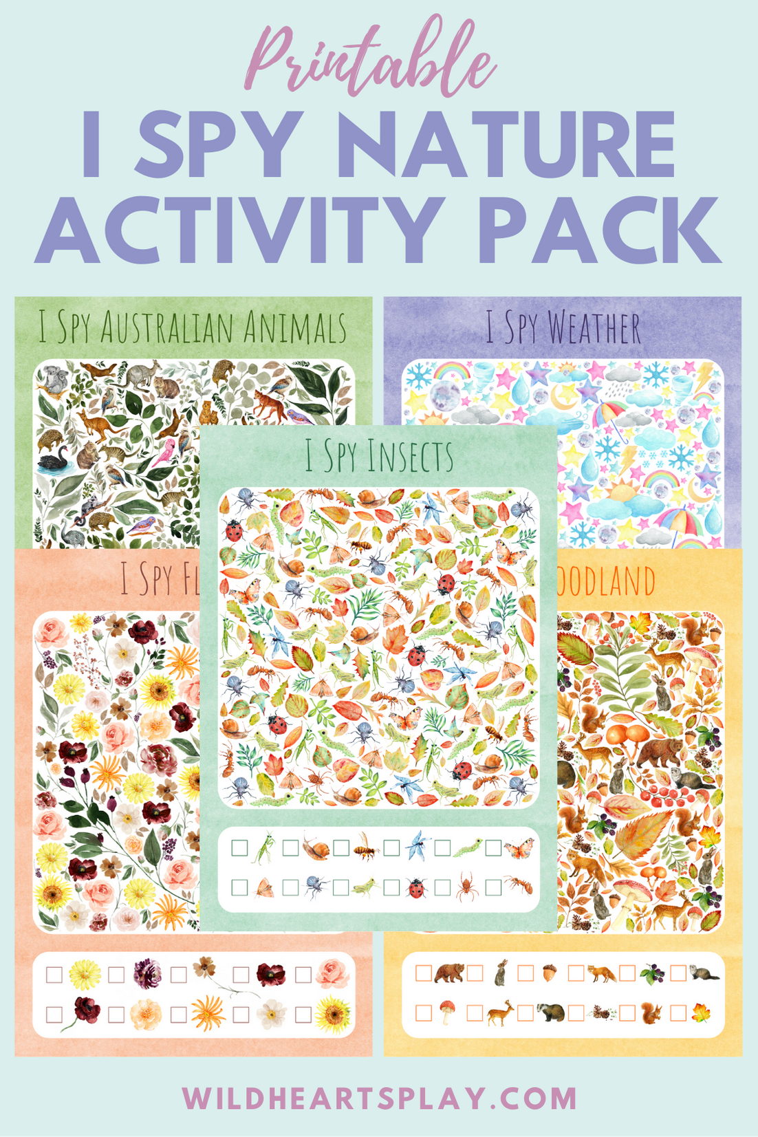 Printable I Spy Activity Worksheets Bundle Homeschool Etsy I Spy Numeracy Activities Preschool Activity [ 1653 x 1102 Pixel ]