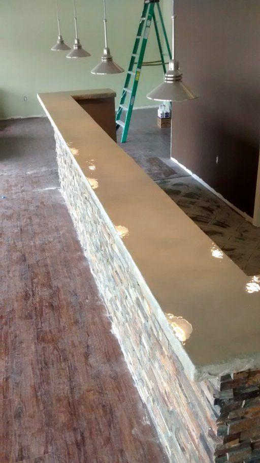 Concrete Overlay Countertop Omaha, NE