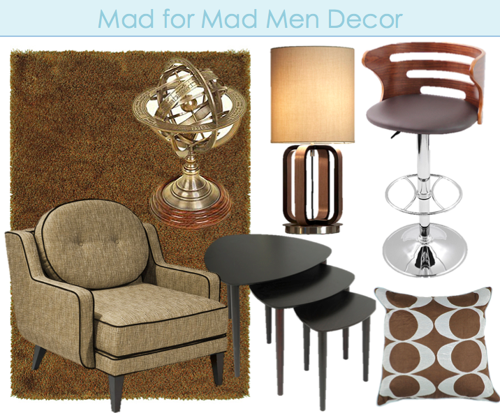 Mad Men Inspired Decor Ideas. Shop For Mid Century Style Furniture On  Overstock.com.