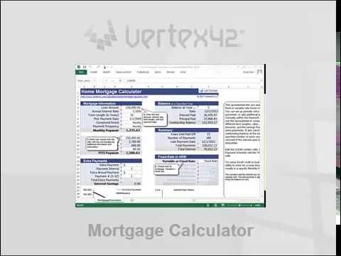 A free spreadsheet to calculate my home mortgage payments Excel - free spreadsheet application for windows 10