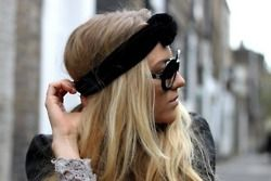 Headband and sunnies