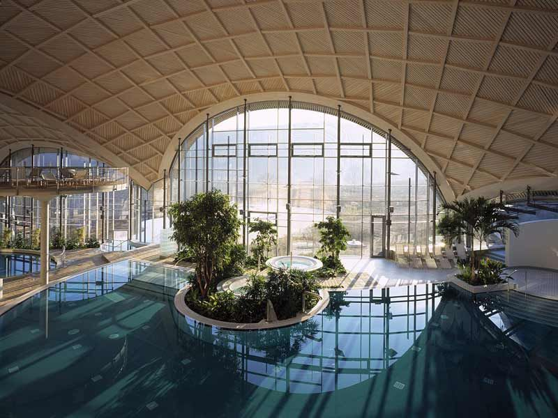 Thermal brine bath at the spa in Bad Orb, Germany | Ultimate Wish ...
