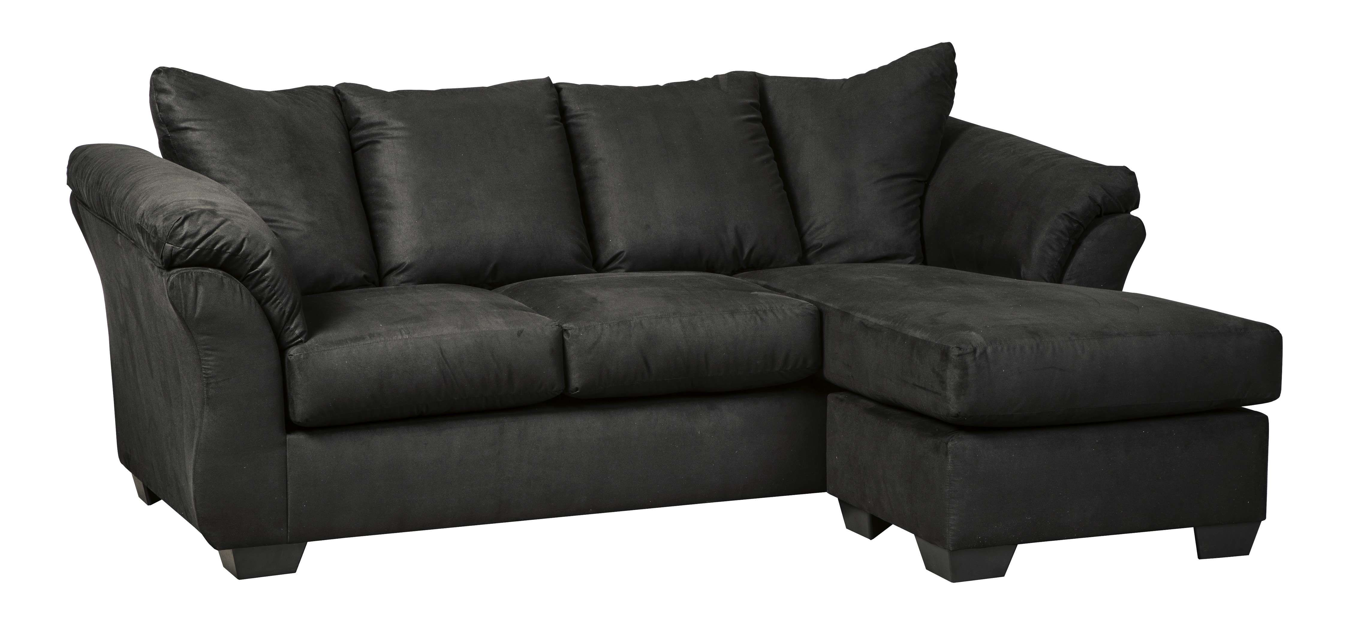 Signature Design By Ashley Darcy Black Sofa Chaise Reviews