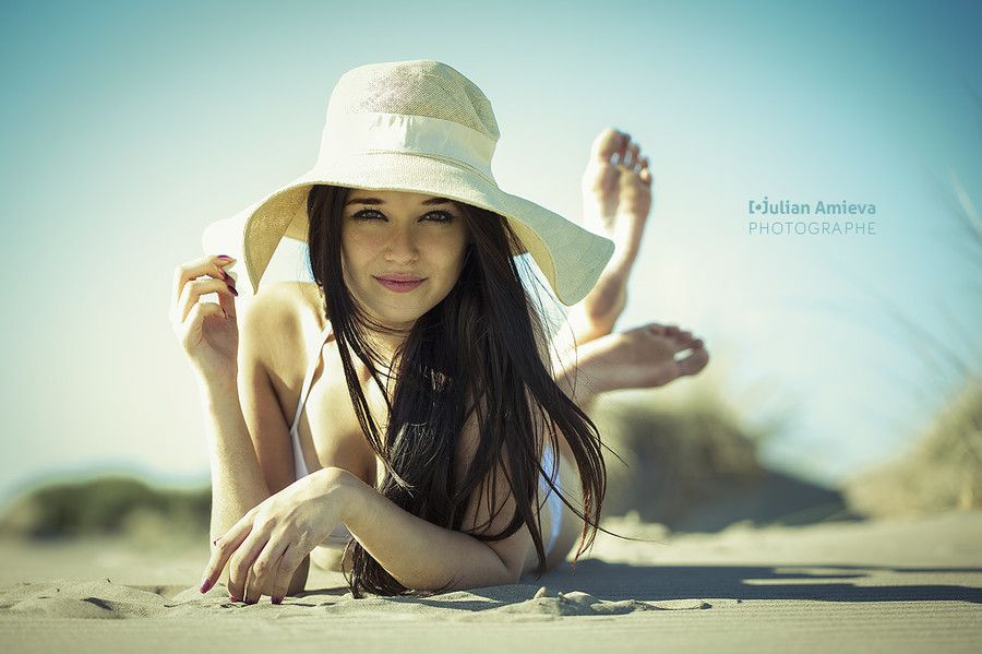 à la plage by Julian AMIEVA on 500px