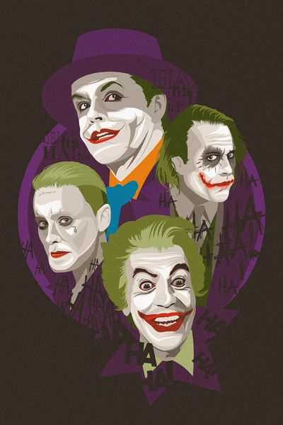The Jokers by Danny Haas - Buy Print HERE