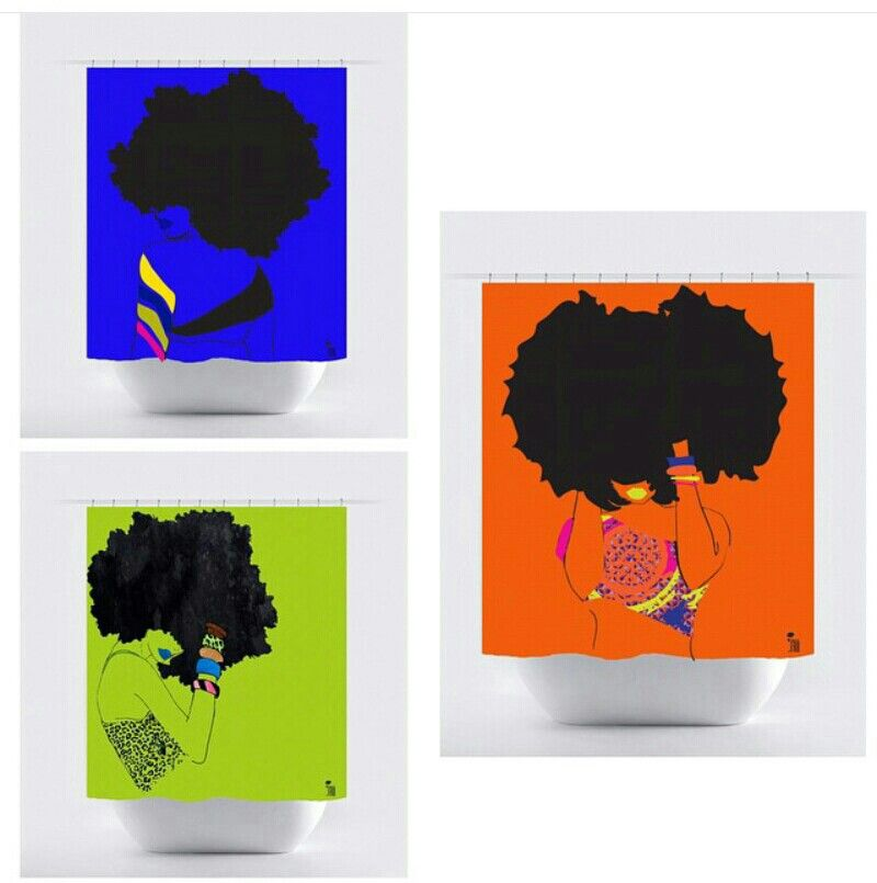 Shower Curtains 30 Pardonmyfro Afro Curtain African